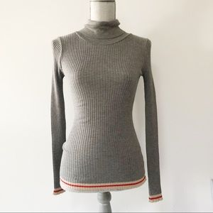 Anthropologie Indi and Cold ribbed turtleneck